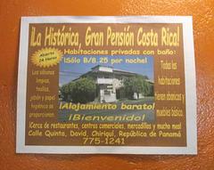 La Histórica Gran Pensión Costa Rica