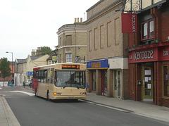 DSCN3337 Essex County Buses T414 LGP in Bury St. Edmunds - 2 Sep 2009