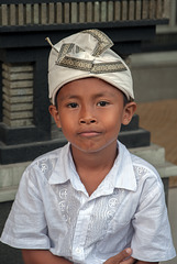 Gunggus a young host in Mengwi