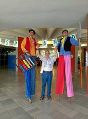 Angel Arquillos kun granduloj dum la UKo en Nitra