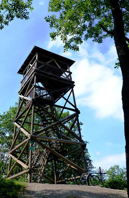 Aussichtsturm auf dem Steinthalskopf