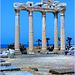 SIDE : ancora una immagine del tempio bizantino non ancora crollato