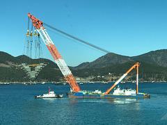 3600T heavy lift crane, DSME