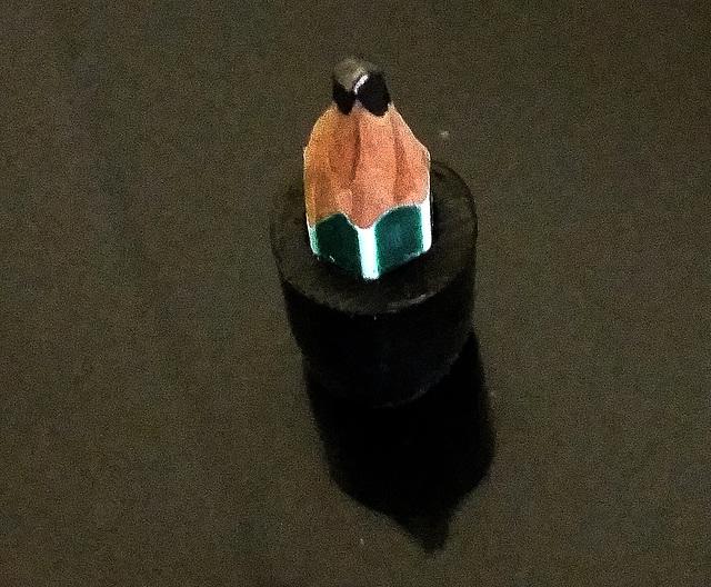 The pencil stub