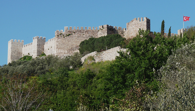 Selcuk- Walls of the Fortress
