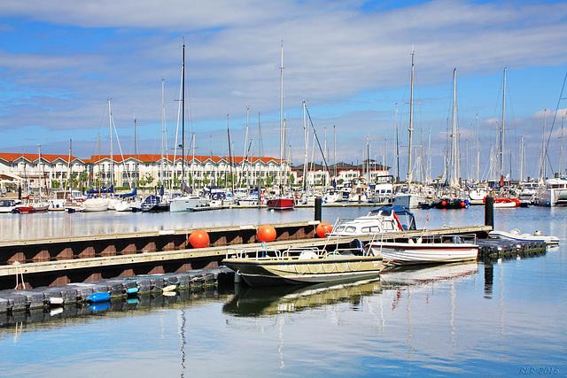 Boltenhagen, Yachthafen und Ferienanlage Weiße Wiek