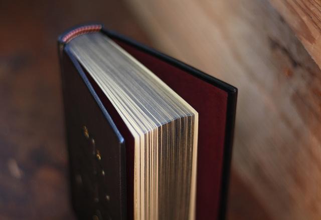 Brimstone journal, dyed edge