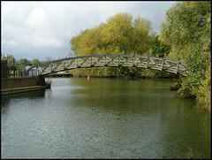 Thames footbridge at Rewley