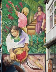 Hauswand an der Großen ElbStraße in Hamburg-Altona