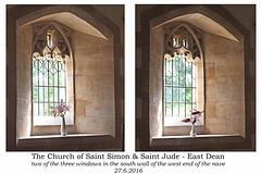 St Simon & St Jude nave windows 27 6 2016