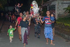 Neighboring village people in Mengwi