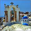 Santorini : Tante chiese a Oia - (988)