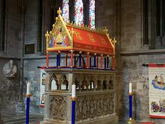 The shrine of St. Thomas Cantaloupe Hereford 1218-1282