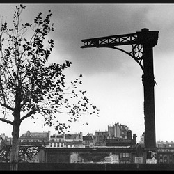 Démolition des Halles de Paris (1971)