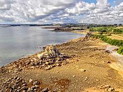 Marée basse dans la baie de Morlaix