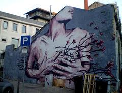 Mural by Tamara Alves.