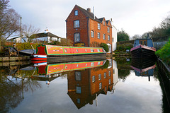Coton Mill on Shropshire Union Canal