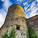 Torre angolare del Castello di Varsi - Val Ceno