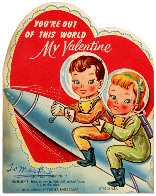 You're Out of This World, Valentine