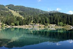 Le lac de Chermignon...