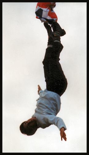 escapologist at Saltram Fair