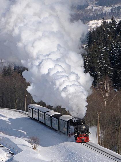 99 794 macht mächtig Dampf