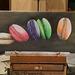 Les macarons (peinture acrylique 75 X 25