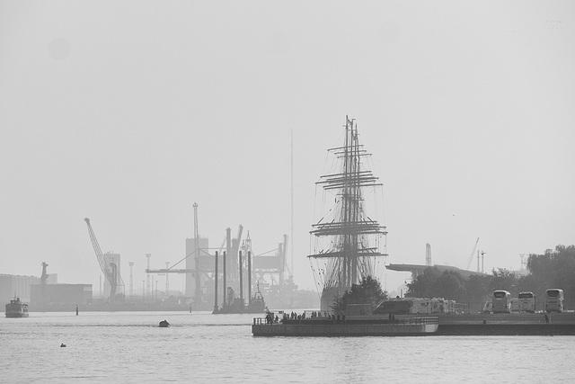 Warnemünde Port (180°) (PiP)