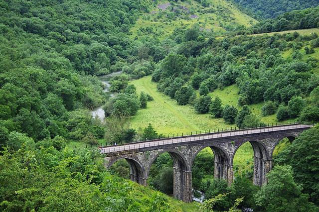 Monsal Dale Viaduct   /   July 2012