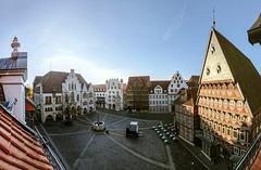 Sonntagmorgen in Hildesheim