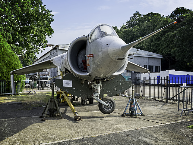 Kestrel Jet aircraft at Brooklands Museum