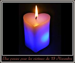 Une pensée pour les victimes du 13 Novembre
