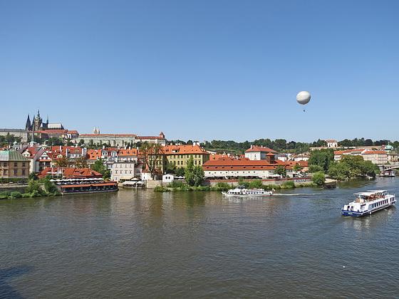 Die Moldau in Prag
