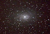 Spiral galaxy M33 (view on black)