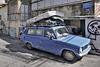 Parked on Metula Street – Metula Street, Neve Tzedek Neighbourhood, Tel Aviv, Israel