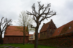 Denmark, In the Courtyard of the Church of Our Lady in Kalundborg