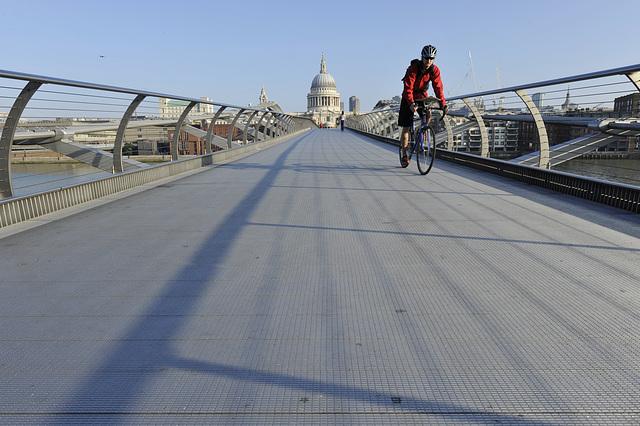 HFF from the Millennium Bridge, St Pauls London