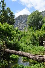 Olympos, Natural Bridge across the Creek