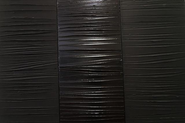 """""""Peinture"""" (détail) (Pierre Soulages - 2009)"""
