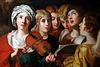 Sainte Cécile et les anges - anonyme .