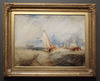 Van Tromp Going About to Please His Masters... by Turner in the Getty Center, June 2016