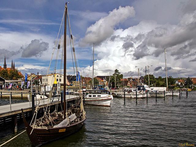 Im Hafen von Schleswig