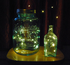 12/50 Catching Light in an Old Bottle