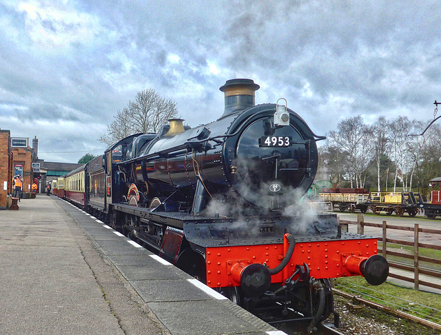 Great Central Railway Quorn Leicestershire 4th February 2020