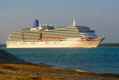 ARCADIA sailing from Southampton