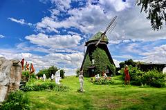 Dambeck, Skulpturengarten an der Mühle