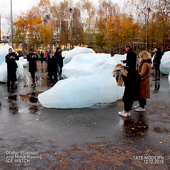 London - Ice Watch - Olafur Eliasson & Minik Rosing - 12.12.2018 - d