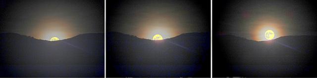Moon Rise behind Monte Baldo... ©UdoSm