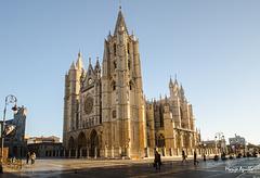 Amanecer en la catedral