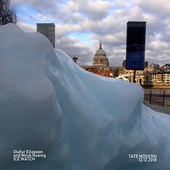 London - Ice Watch - Olafur Eliasson & Minik Rosing - 12.12.2018 - e